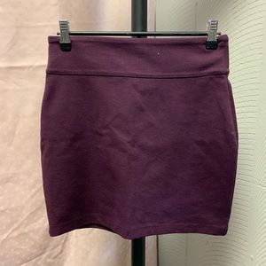 Silence + Noise purple skirt.